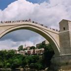 Jummping in Mostar