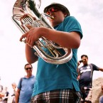 The Tuba's man